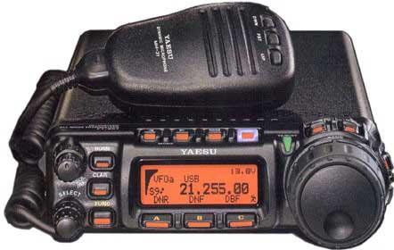 радиостанция YAESU FT-857