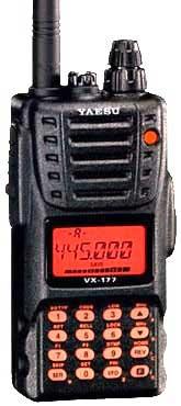 Портативная радиостанция Vertex VX-177